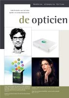 De Opticien nr. 5 2014
