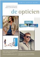 De Opticien nr. 6 2014